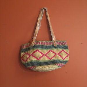NWT woven market bag